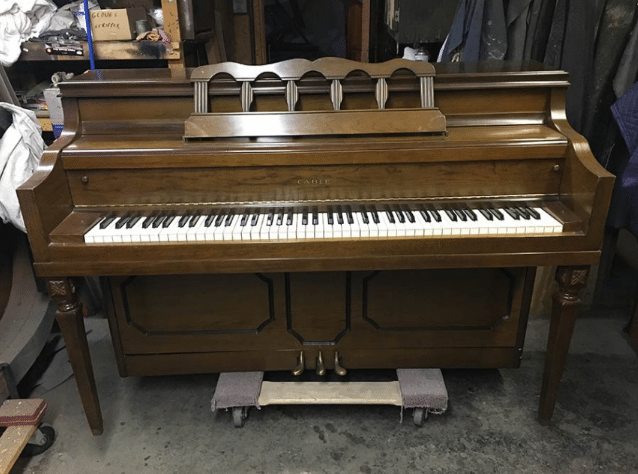 1974 cable console piano, piano for sale, cable console piano for sale