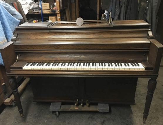 mason & hamline e console, piano for sale, e console piano for sale