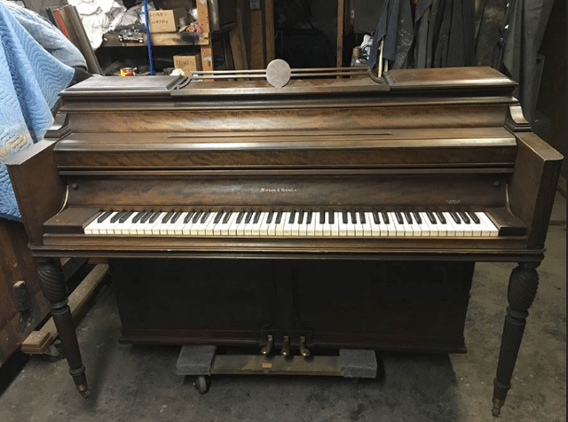 mason & hamline e console, piano for sale, e console piano for sale