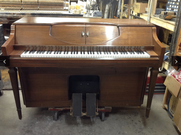 winter musette player piano, piano for sale, musette piano for sale