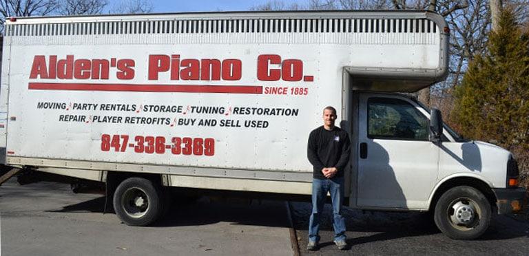 chicago piano mover, alden piano co reviews, chicagoland piano mover reviews